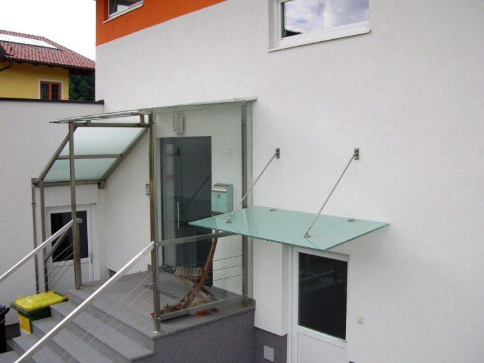 glasüberdachung